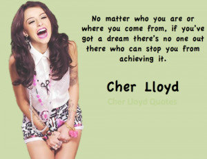 Cher Lloyd Quotes | We Heart It