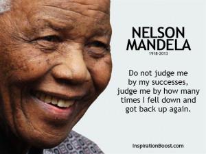 Nelson Mandela Famous Success Quotes