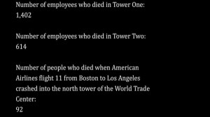 Always Remember, Never Forget. September 11, 2011