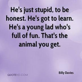 Lad Quotes