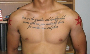 tattoos for men bible quotes chest piece more scripture sleeve chest ...