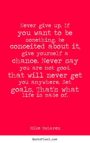 quotes about wanting to give up on life