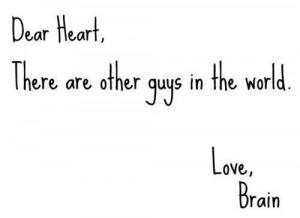 brain, guys, heart, love, text