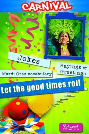 View bigger - Carnival & Mardi Gras - Greetings and Jokes for iPhone ...