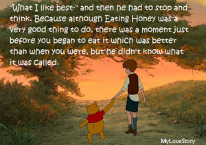 Famous Quotes by Winnie the Pooh, The Wise Honey Bear ...