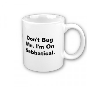 The Great White Sabbatical...