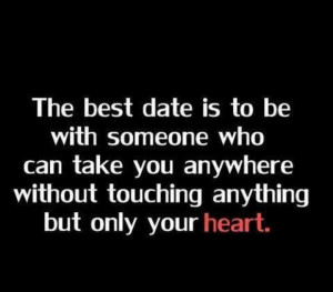 Yes touch my heart...