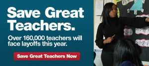 Go to studentsfirst.org and support GOOD teachers!