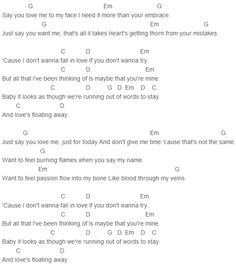 Jessie Ware - Say You Love Me Chords More