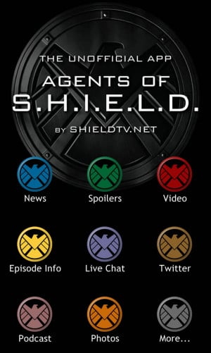 The Unofficial Agents of S.H.I.E.L.D. App Now on iTunes
