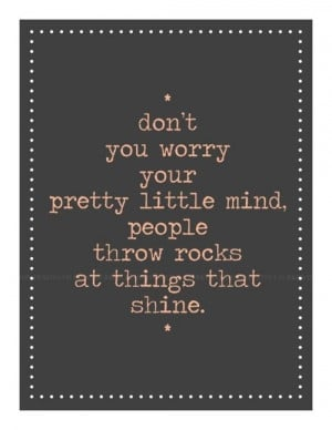 And for those days when you are dealing with haters , in person or ...