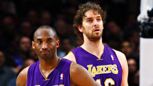 Chris Chambers/Getty Images Pau Gasol and Kobe Bryant are cerebral ...