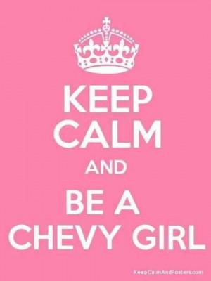 Chevy girl