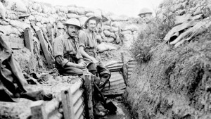 History, WWI Centenary - Soldiers experience life in the trenches