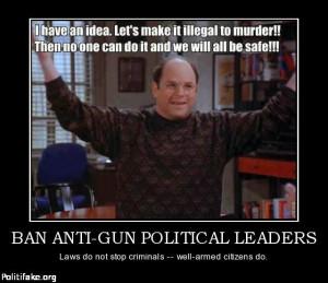 Anti Gun Control George costanza on gun control