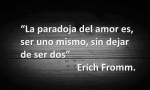 Erich Fromm...