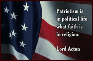 Lord Acton On Patriotism Ecard
