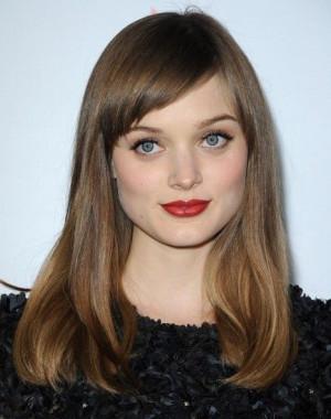 Bella Heathcote | MAC's Dubonnet lipstick: Wave Hairstyles, Hairstyles ...