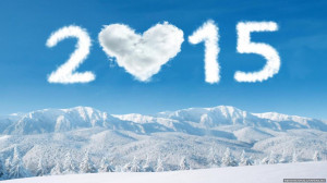 Download Happy New Year 2015 Winter Love Heart HD Wallpaper. Search ...