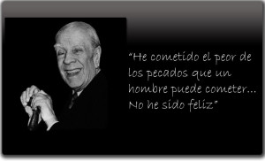 Jorge Luis Borges Quote Picture