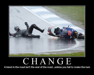 change funny demotivational poster