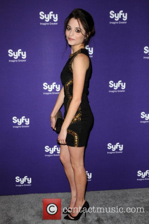 Stephanie Leonidas Syfy Upfront Presentation Arrivals New