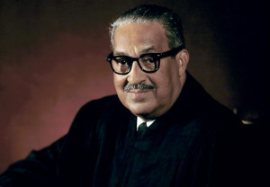 Thurgood Marshall, Associate Justice of the United States supreme ...