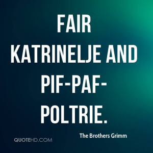 The Brothers Grimm Quotes