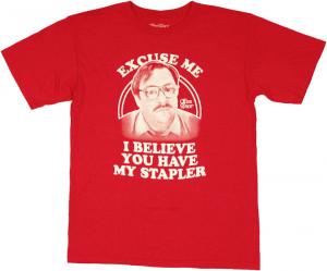 ... office space office space milton stapler t shirt office space milton