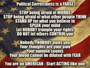 Political Correctness is a Farce