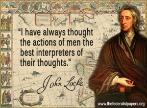 John Locke, The Actions of Men