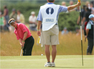 Luke Donald fired a 5-over 77 Saturday, giving the 27-year-old Brit ...