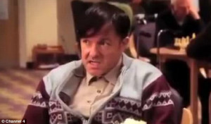 ... subject: Gervais plays care home worker Derek Noakes in the programme