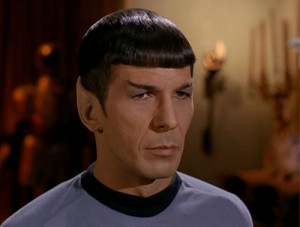 Mr. Spock in Star Trek - The Squire of Gothos :