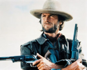 Clint gets three, John Wayne gets three. I always loved this movie ...