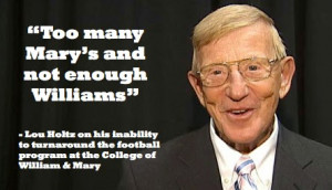 Lou Holtz Quotes On Anger