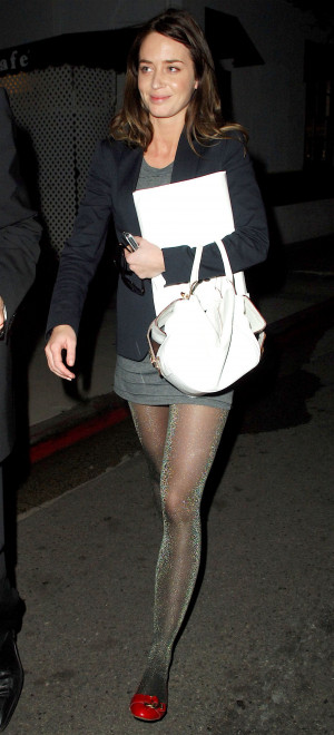 Photos Of Emily Blunt Out In LA With Her Agent, Rumours She's Dating ...