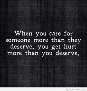 Sad hurt quotes and sayings