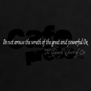 wrath_of_great_powerful_oz_quote_womens_dark_tsh.jpg?color=Black ...