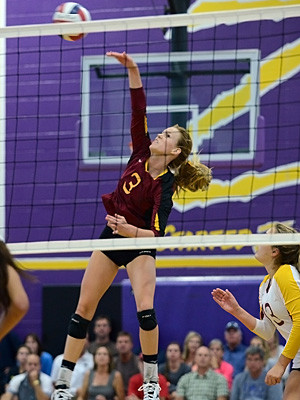 Outside Hitter Volleyball Quotes Riley buechler, torrey pines
