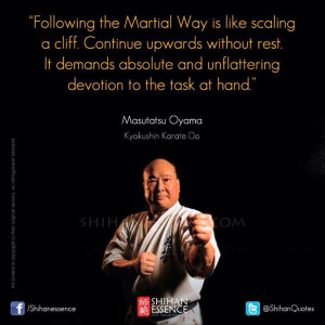 Martial arts inspiration and quotes to live by. Shihan Essence ...