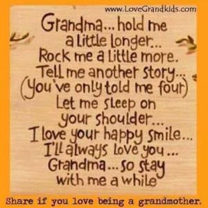 Love being a grandma.