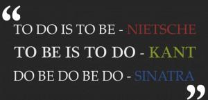 Frank Sinatra - Amazing singer or brilliant philosopher?...You decide.