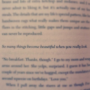 love this quote- from Before I fall