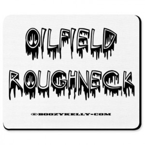 Oil Field Roughneck Mousepad