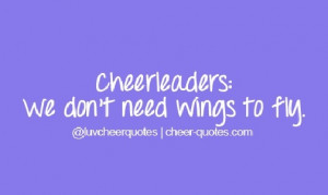 quotes about cheer bases