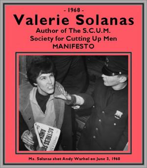 Valerie Solanas 1967 by valerie solanas.