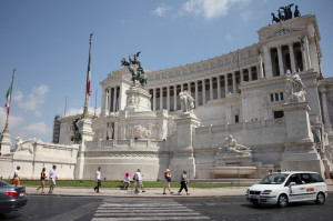 Italy Rome Government Building