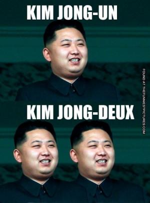 Two french Kim Jong Un