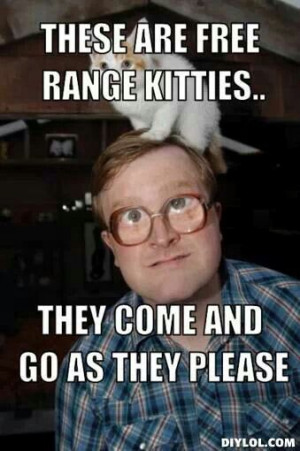 Bubbles Trailer Park Boys Cat Meme